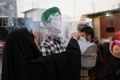As in the Catholic culture, the incense is also purifying for the Shiites who walk, during Arbaeen, the 85 km between Najaf and Kerbala (Iraq)