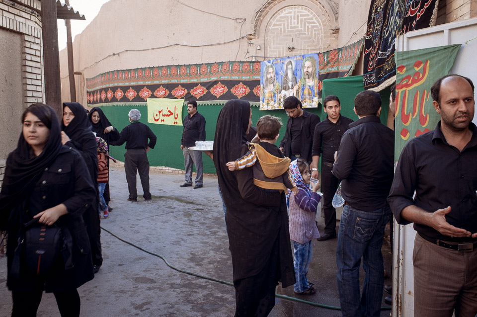 Water in Ashura. Yazd
