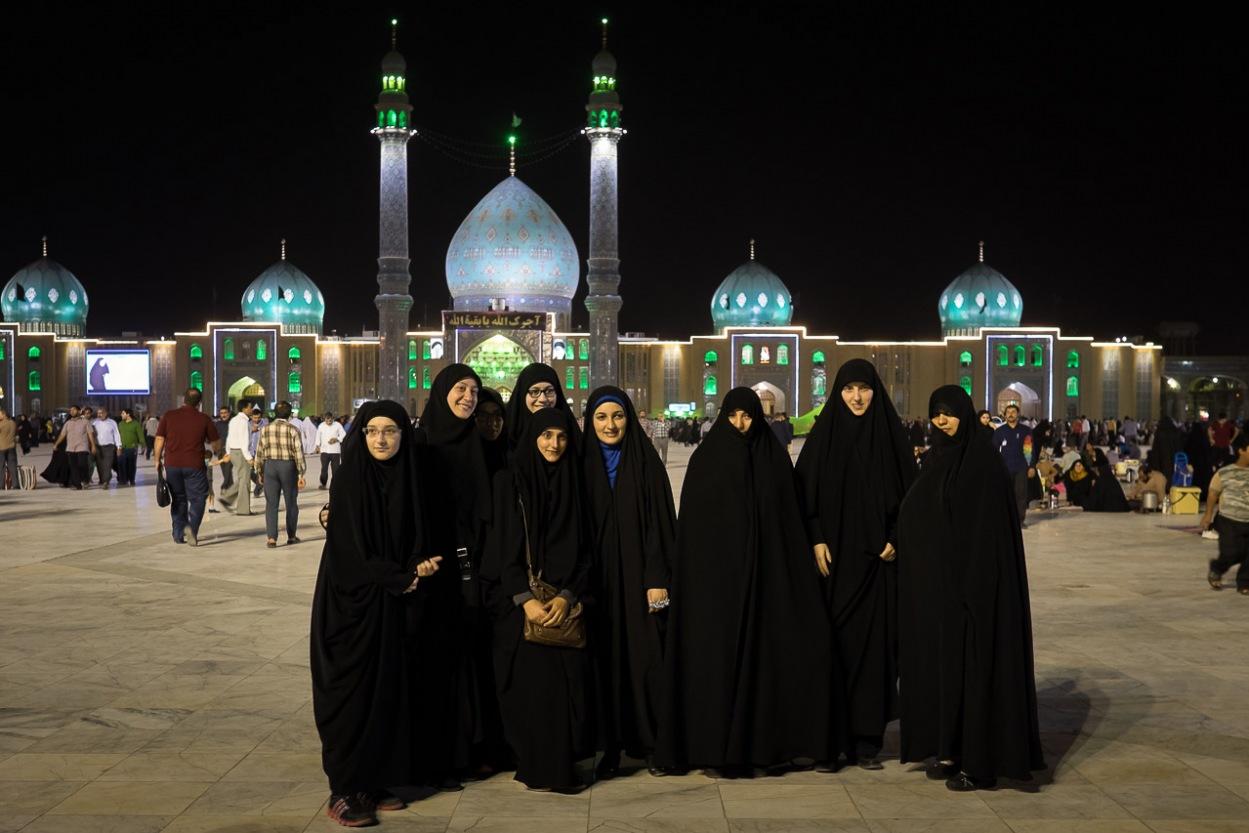 Jamkaran Mosque at Qom city, Iran