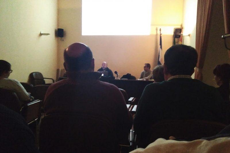 Conferencia Manolo Espaliú Casa Cultura Arahal (Sevilla).
